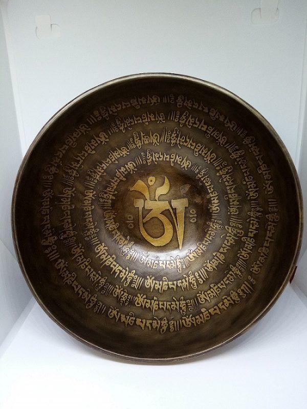 Тибетска пееща купа Ом Мани Падме Хум