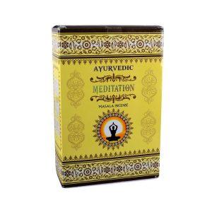 meditation ayurvedic